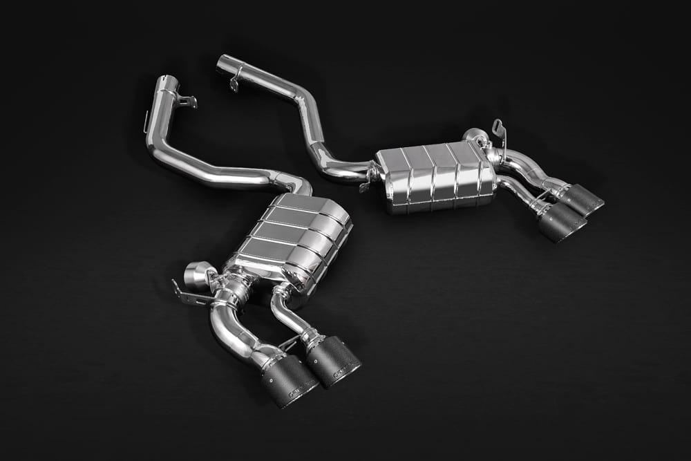 Abgasanlage & Carbon Endrohre